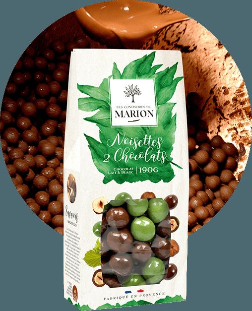 Noisettes 2 chocolats