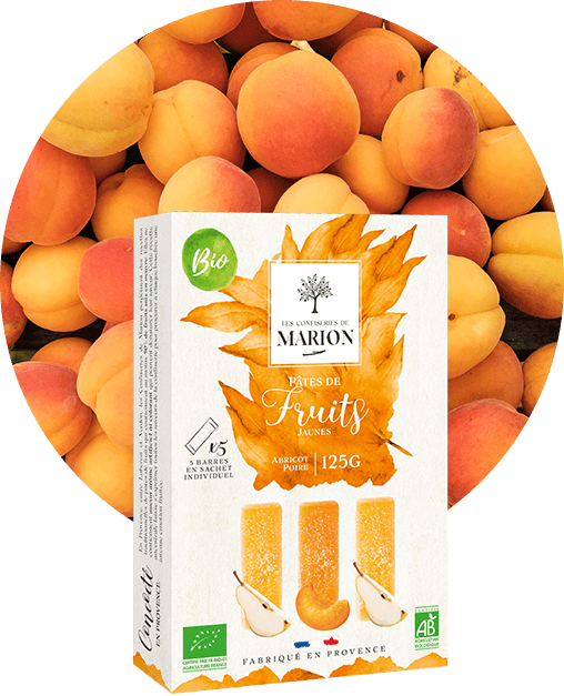 Pâtes de Fruits Jaunes Bio