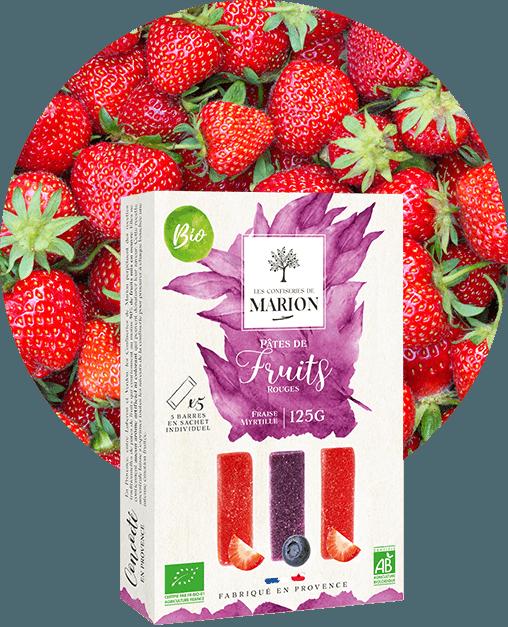 Pâtes de Fruits Rouges Bio