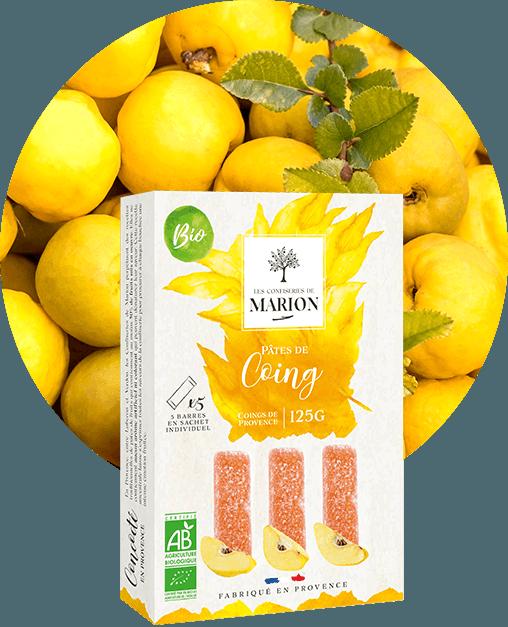 Pâtes de Coing de Provence Bio