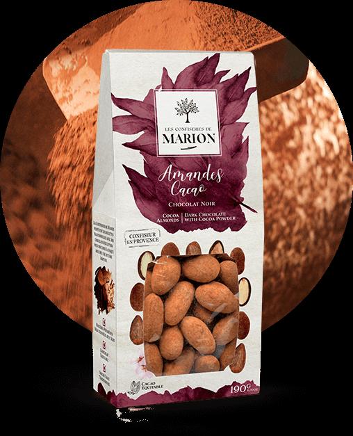 Amandes Cacao Chocolat Noir