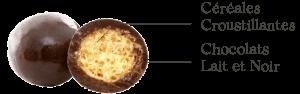 Céréales Croustillantes Chocolats Lait et Noir